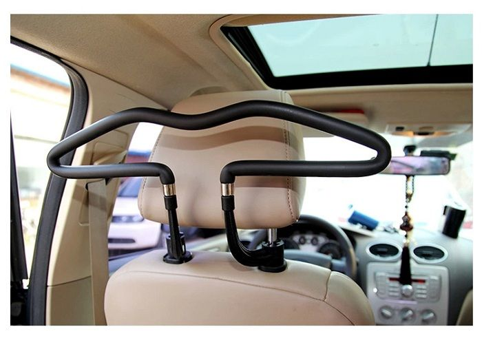 car hangers for clothes coat suit Convenient headrest chair Seat storage holder rack stainless steel