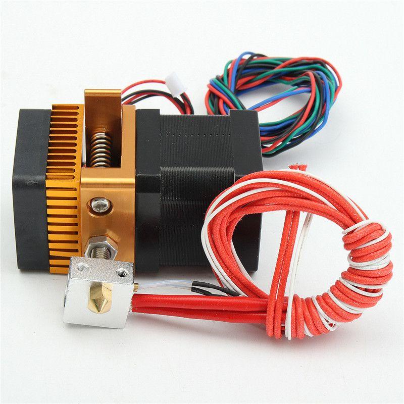 Новый 3D-принтеры головы MK8 экструдер j-глава hotend насадка 0.4 мм вход питания Диаметр 1.75 нити Дополнительная насадка для makerbot