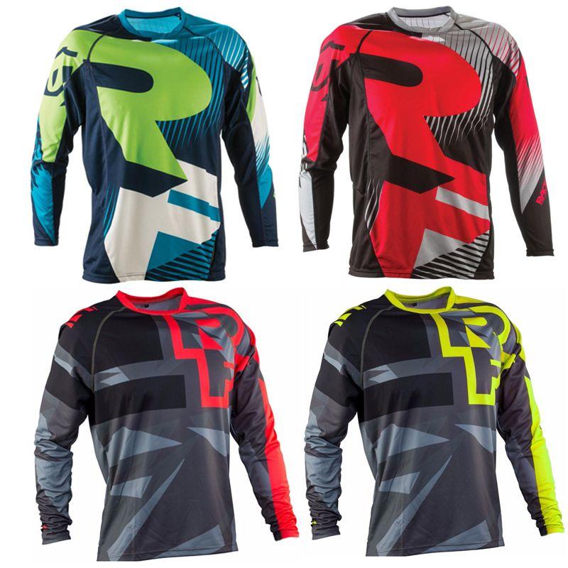 2017 Горячие канадские RaceFace семь AM DH/принять заказ Длинные рукава майки для велоспорта горные Велоспорт одежда Рубашки для мальчиков Майо ...