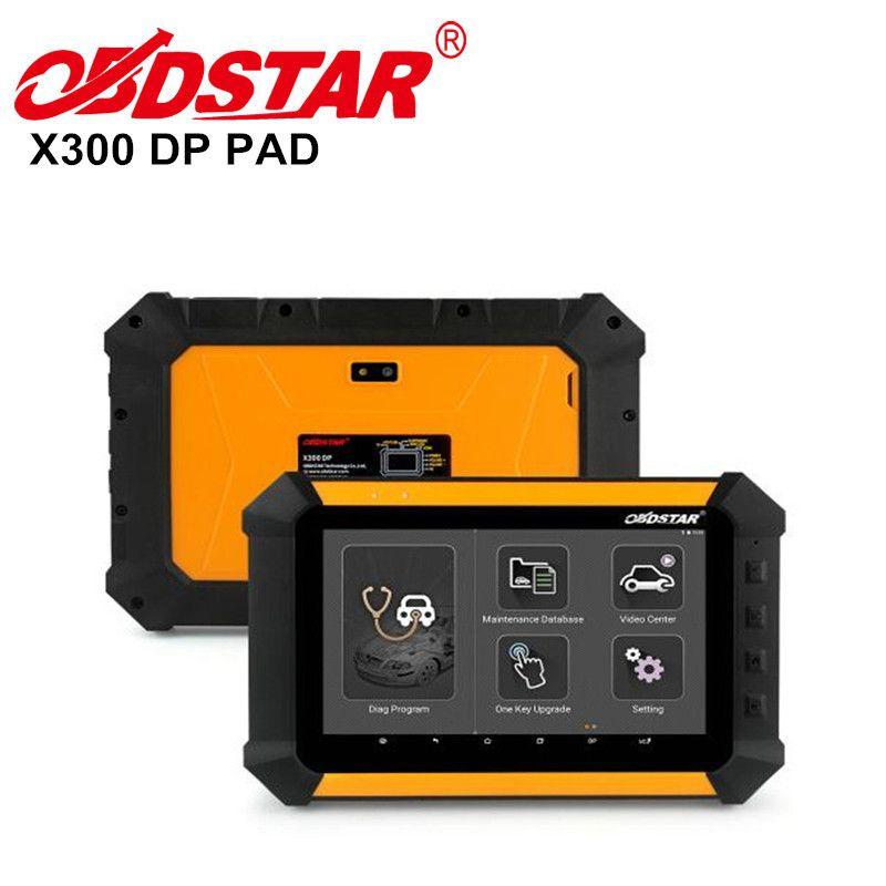Original OBDSTAR X300 DP Pad x300DP Pad Key Master Pad Autoschlüssel programmierer Kostenloses update für 1 jahre X 300 DP Selbstdiagnosewerkzeug