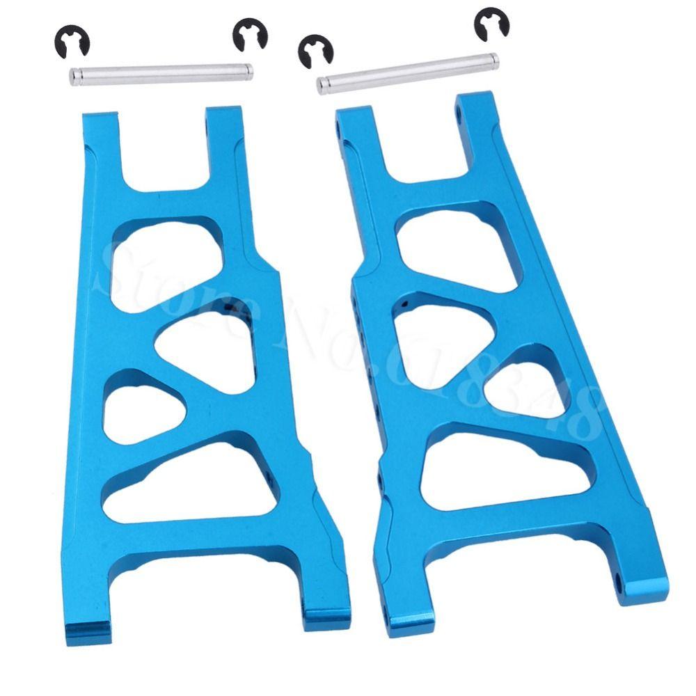 Pour 1/10 Traxxas Slash 4x4 aluminium avant/arrière Suspension gauche et droite a-arms Stampede pièces de mise à niveau de 3655x XO-1 w/TSM