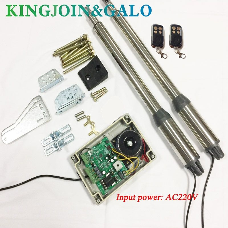 300KGS Double-leaf Swing Gate Operator, Swing Gate Opener ,with circuit board and 2pcs Remote control