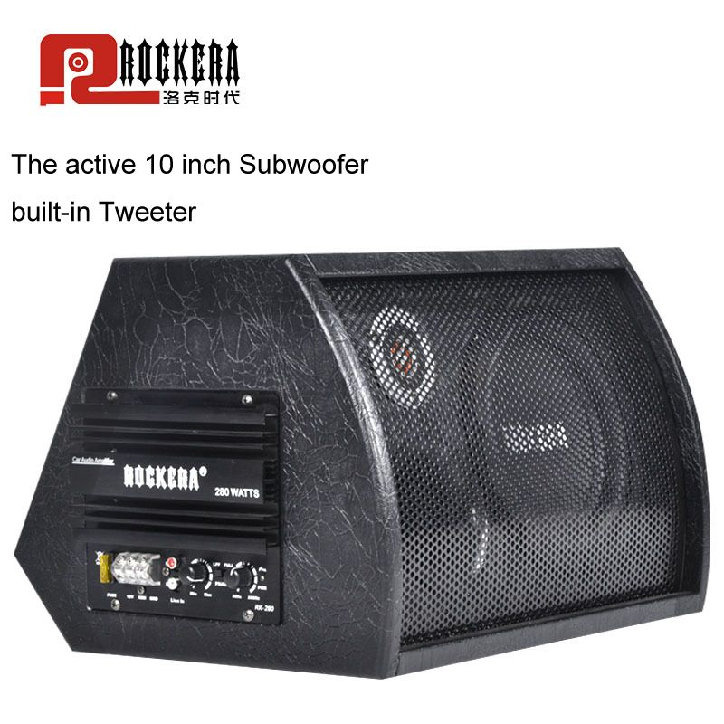 Universal 10 Inch Car Subwoofer Max 400W HIFI Active Sub woofer Strong Bass Auto Audio Sound Home Woofer Speaker With Amplifier