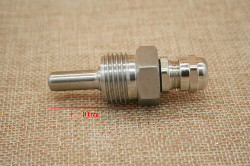 Thermowell Length 30mm thread 1/2