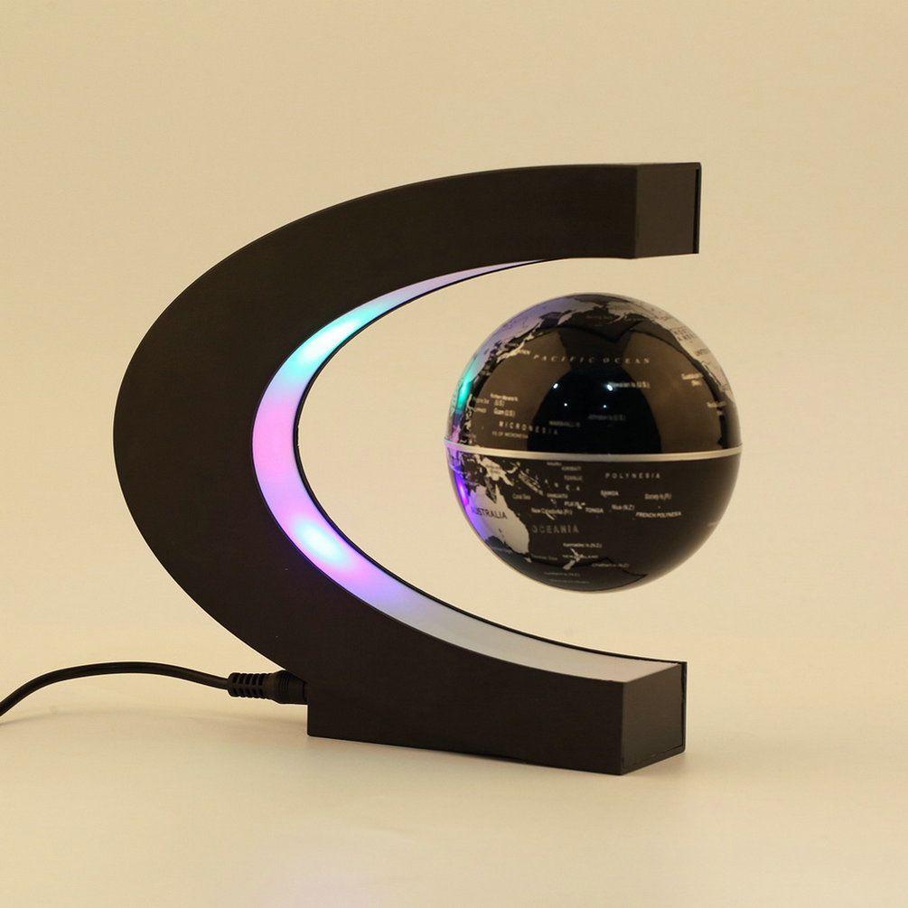 Nouvelle Électronique Lévitation Magnétique Flottant Globe Antigravity magique/roman lumière D'anniversaire Cadeau De Noël Décoration de Santa Home Decor