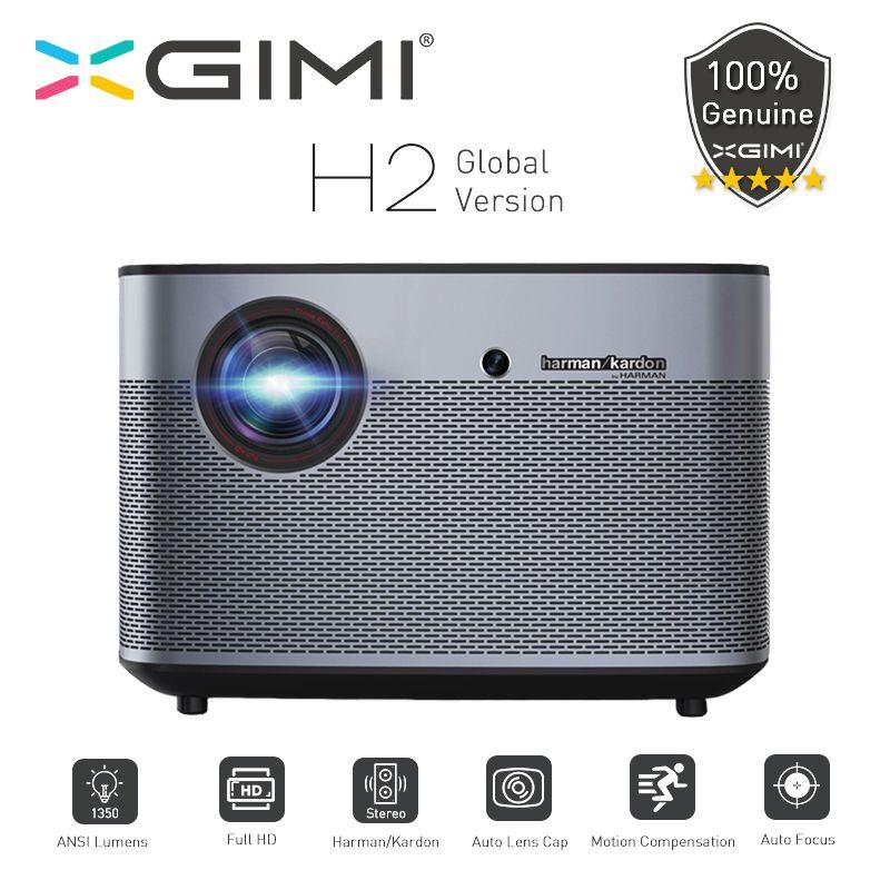 XGIMI H2 DLP Projektor 1920x1080 Volle HD 3D Unterstützung 1350 Ansi WiFi Bluetooth Heimkino Beamer 4K video HDMI USB LAN