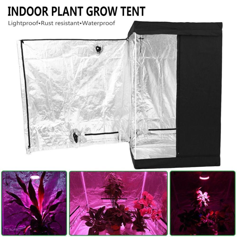 Durable Hydroponics Grow Room Indoor Plant Grow Tent Premium Garden Greenhouses Universal Planting Accessories