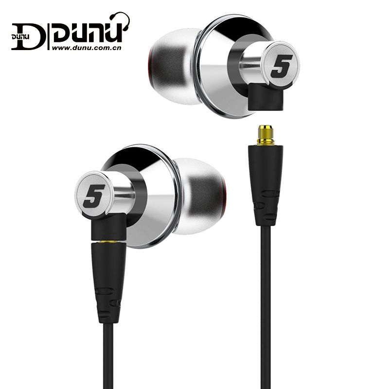 DUNU TITAN5 HiFi Inner-ear Earphone Large dynamic acoustic performance interchangeable cable jack IEM TITAN 5 TITAN-5 Rich Bass
