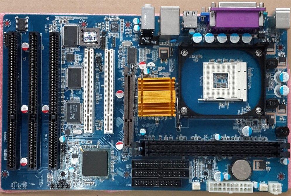 Free shipping New Original 845GV 845GL ISA Mainboard 478 DDR ISA Motherboard 2PCI 1 AGP 4/8X, 3 *ISA Industrial Tax motherboards