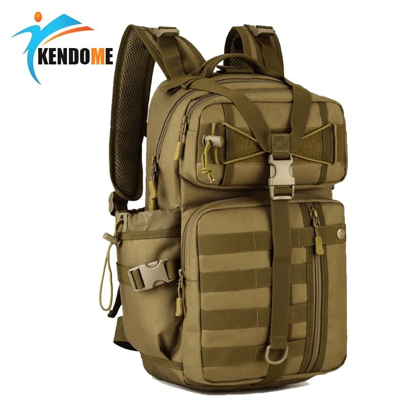 Hot Men Outdoor 3P Tactical Backpack 900D Waterproof Army Shoulder Military hunting camping Women Multi-purpose Molle Sports Bag