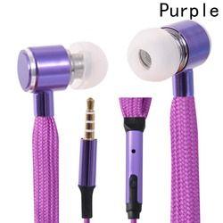 New Style In-Ear Shoe Lace Earphones With Mic Portable In-Ear Earbud Portable Professional Music Earphones