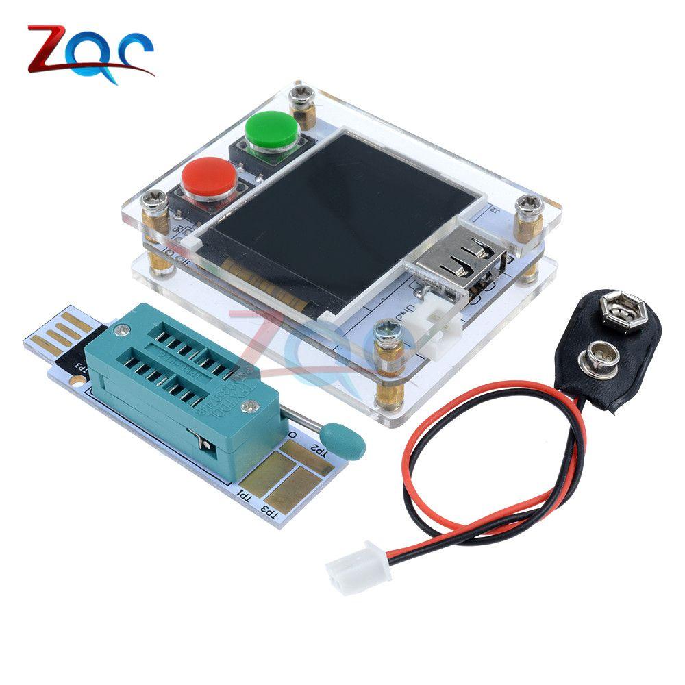 MK-328 MK328 Mega328 M328 ATmega328 8MHz Digital Transistor Tester Triode Capacitance ESR Meter MOS PNP NPN LCR JFET P-IGPT