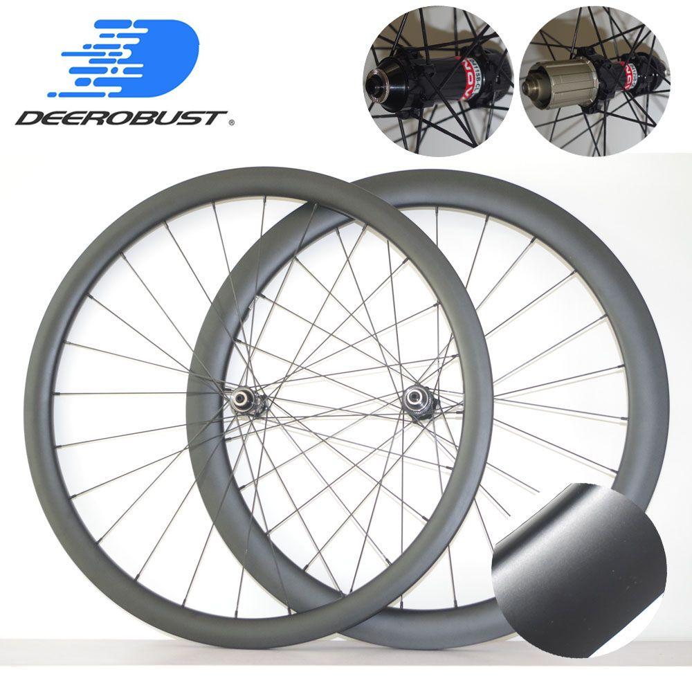 1374g Center Lock 700C 38mm/50mm x 25mm Asymmetrische Tubeless Klammer Straße Disc Cyclocross Carbon räder Fahrrad Laufradsatz XDR 12s