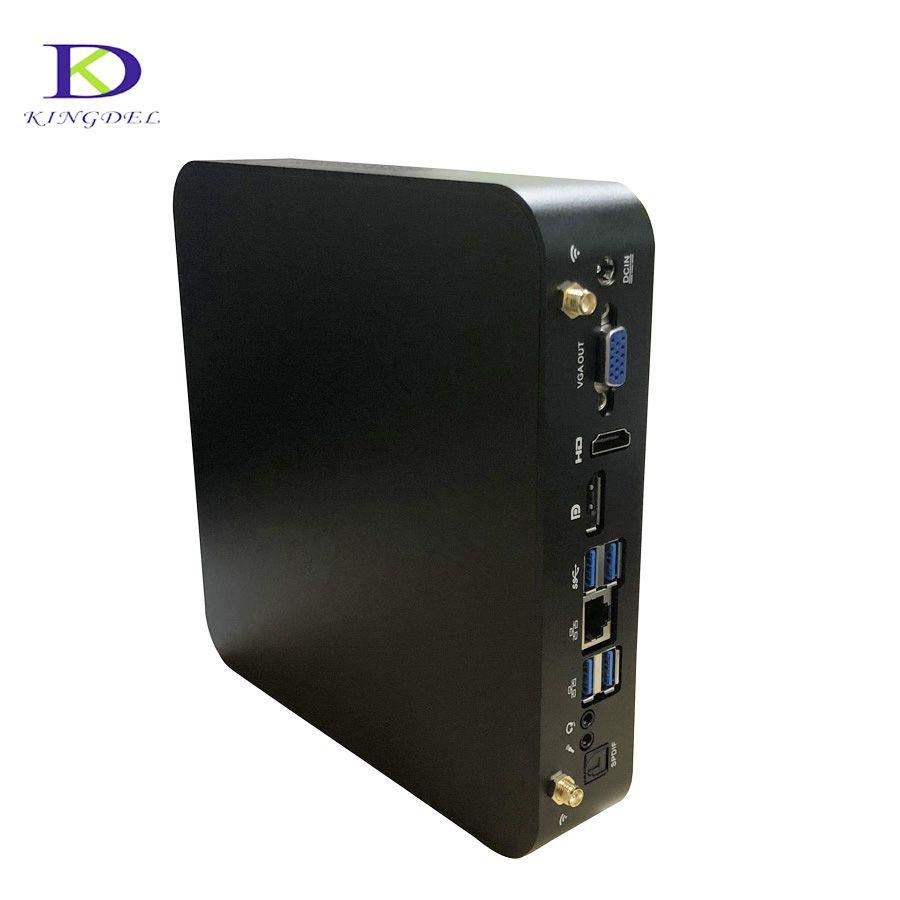 Intel Quad Core i7 7700HQ i7 6700HQ i5 6300HQ mini PC mit Bluetooth Wifi HDMI VGA DP Unterstützung windows 10/8 linux Nettop Mini PC