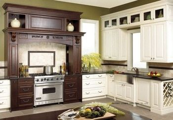 classical complete kitchen cabinet(LH-SW082)