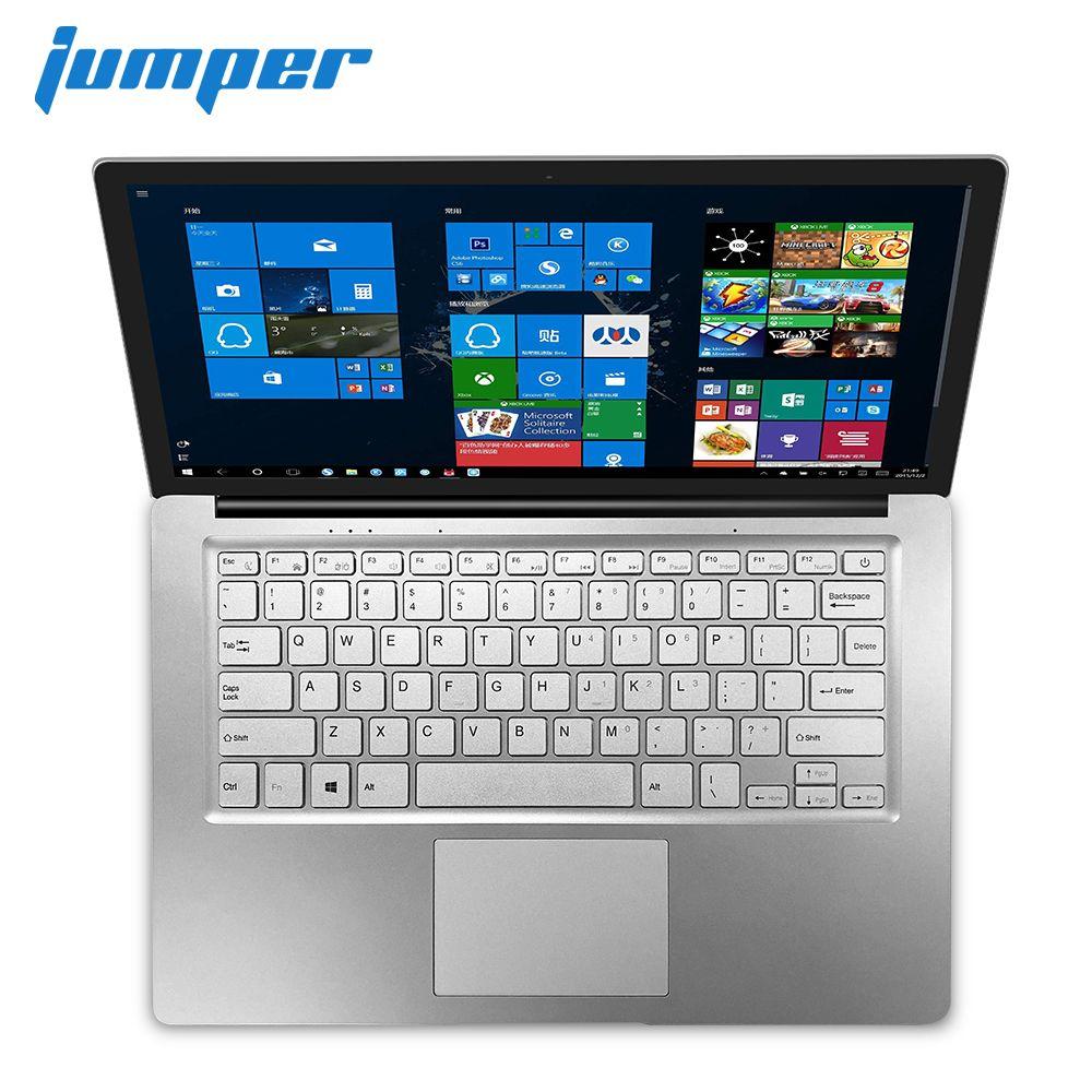 14 inch screen notebook Jumper EZbook S4 laptop Intel Gemini Lake N4100 ultrabook 4GB RAM 64GB/128GB ROM Dual Band WIFI computer