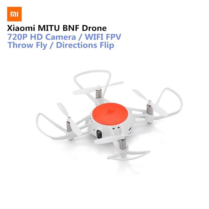 Original Xiaomi MITU WIFI FPV 360 Tumbling RC Drone with 720P HD Camera Multi-machine Infrared Battle Camera Drone- BNF Version