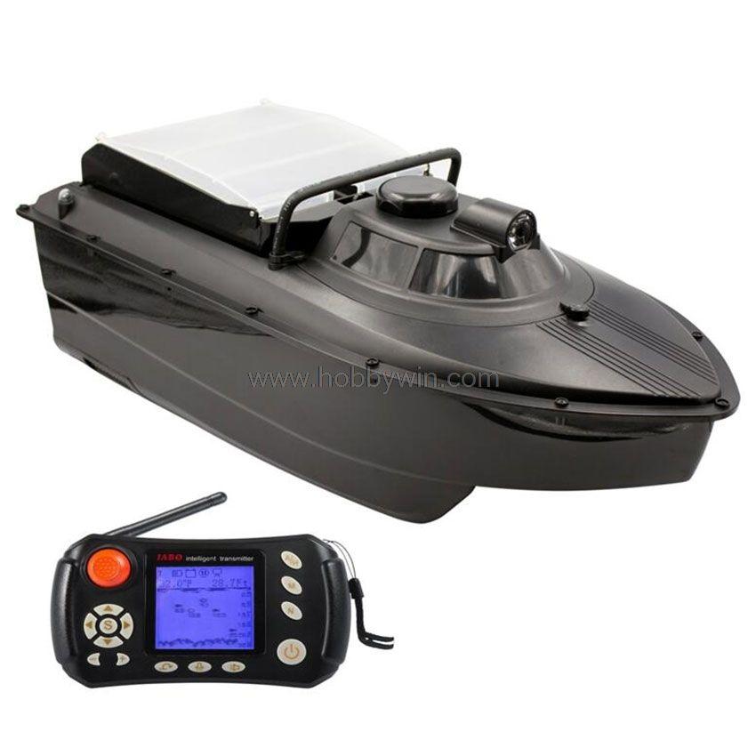 JABO 2CG Automatische Navigation Köder Boot Sonar fishfinder Wasser tiefe erkennung Unterwasser umriss display 2,4G RTR