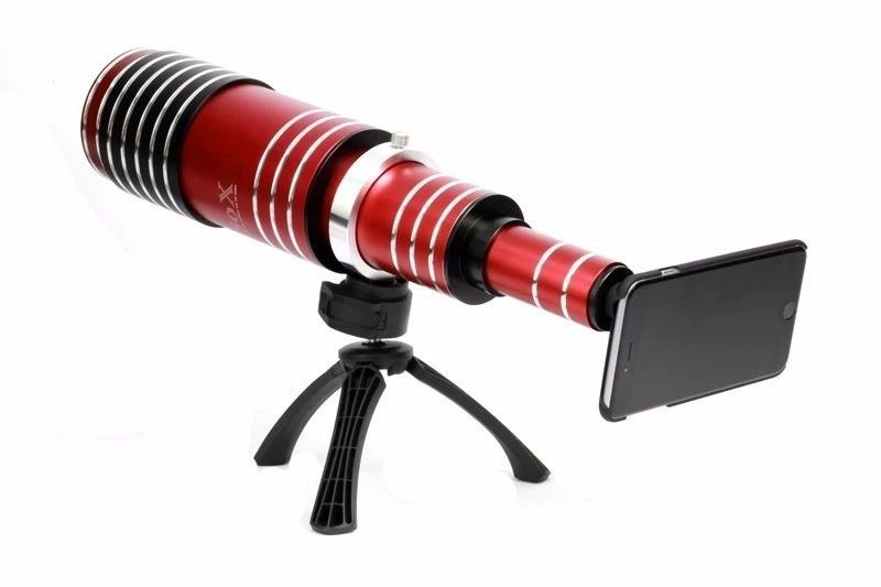 High-end 80X Metal Telephoto Zoom Lens Telescope Mobile Phone Camera Lenses 3in1 Kit For iPhone 5 5s 6 6s 7 Plus Android