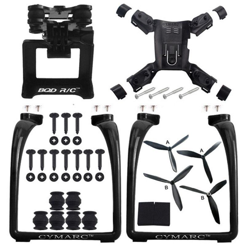Hot New Hubsan H501S X4 AIR H501A Legs Landing Gear Gimbal Mount Camera Holder Bracket Propeller Quadcopter Spare Parts Accs
