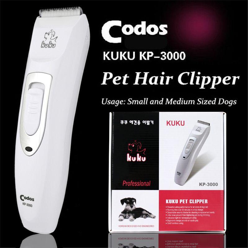 Professionnel animal tondeuse ciseaux chien bovins lapins rasoir cheval toilettage électrique tondeuse à cheveux Machine de découpe Codos KP3000