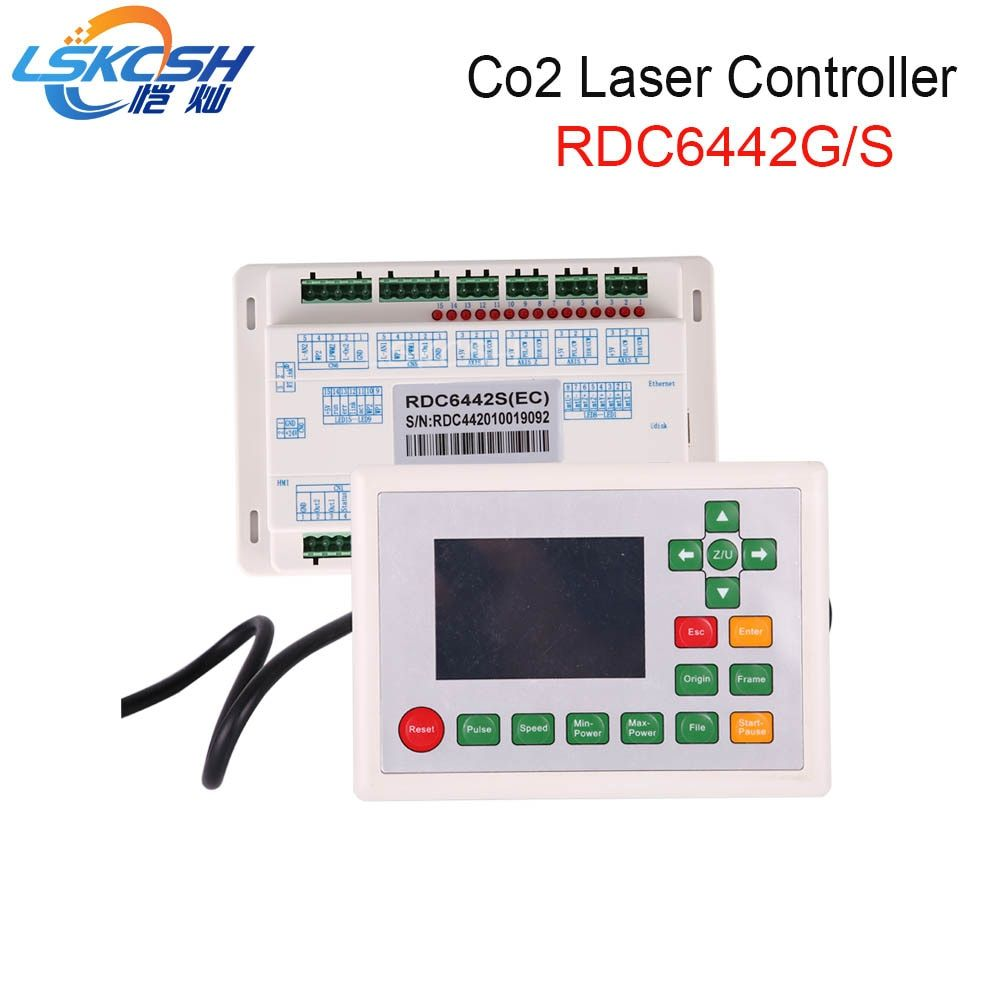 LSKCSH Ruida RD6442S RDC6442G Co2 Laser DSP Controller for Co2 Laser Engraving Cutting Machine Professional laser parts supplier