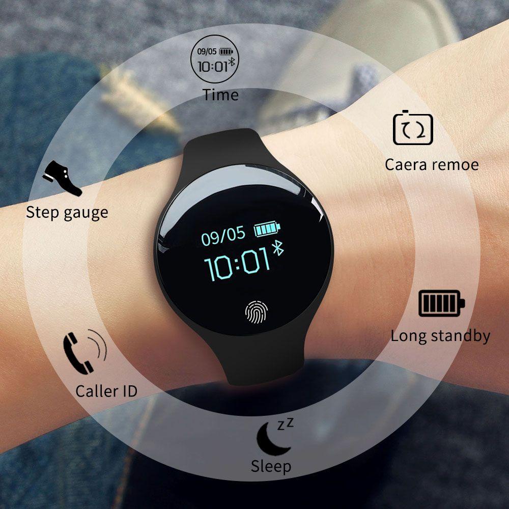 SANDA Bluetooth Montre Smart Watch pour IOS Android Hommes Femmes Sport Intelligente Podomètre Fitness Bracelet Montres pour iPhone Horloge Hommes