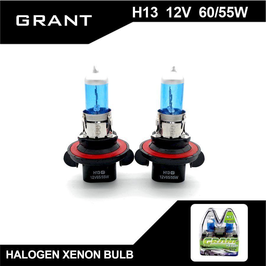 SUBVENTION H13 9008 Halogène Ampoules 65/55 W Haute/feux de croisement DC12V Xénon blanc Bleu Plaqué Quartz Surface Lampes Auto Pour Ford Honda mazda