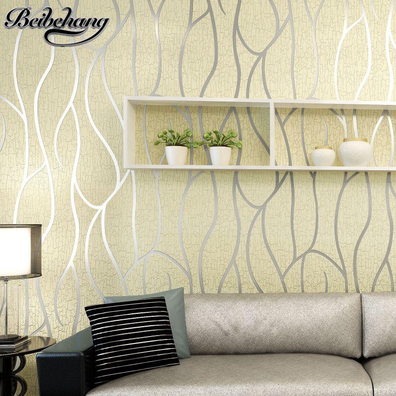 Beibehang 3D Stereo Gestreiften Tapeten Wohnzimmer TV hintergrund tapete Modernen minimalistischen schlafzimmer hirschleder Wand papier