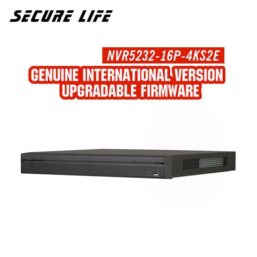 Englisch mit logo 32ch NVR 4 karat EoC NVR5232-16P-4KS2E 1U 16PoE H.265 pro netzwerk video recorder ersetzen NVR5232-16P-4KS2