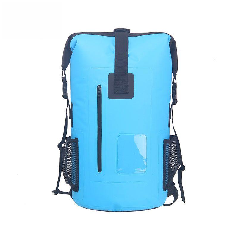 30L im freien Multifunktions PVC wasserdichte trockenen taschen drift camping schwimmen strand sammeln hochfrequenz schweißen rucksack