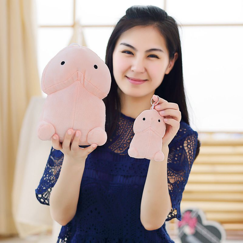 10/20cm Creative Plush Penis Toy Doll Funny Soft Stuffed Plush Simulation Penis Pillow Cute Sexy Kawaii Toy Gift for Girlfriend