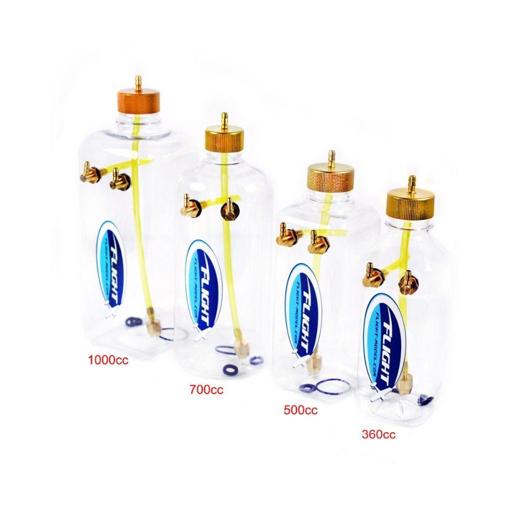 Nouveau Modèle de Vol De Carburant RC Réservoir Transparent En Plastique 260 ml 360 ml 500 ml 1000 ml Pour RC Avion Modèle