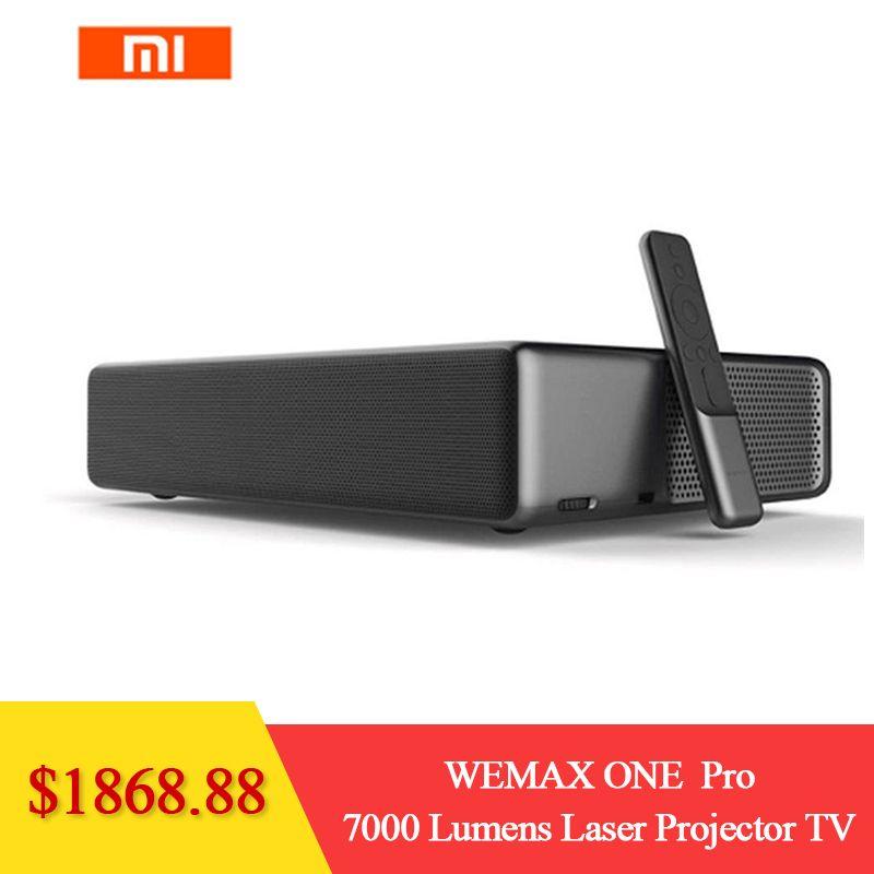 Xiaomi WEMAX ONE PRO FMWS02C ALPD 7000 Lumen Laser Projektor TV Heimkino Prejector NEUE
