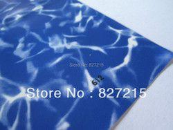 1,8 612 м ширина #1,5 вода текстура стрейч потолок пленка и ПВХ стрейч потолок пленка небольшой заказ