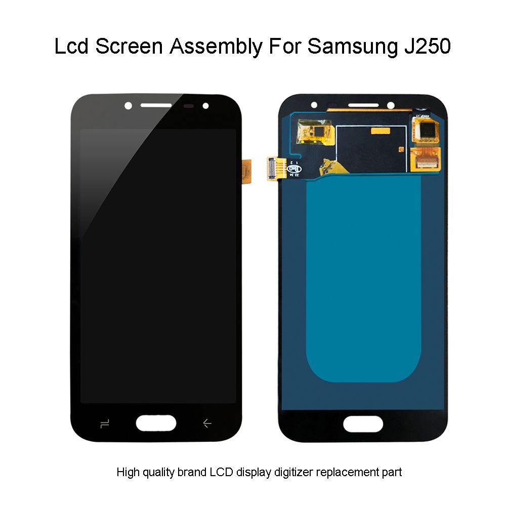 Qualität Lcd Für Samsung Galaxy J2 Pro 2018 J250 SM-J250F/DS LCD Touch Screen Digitizer Display Montage Für Samsung j250 LCD