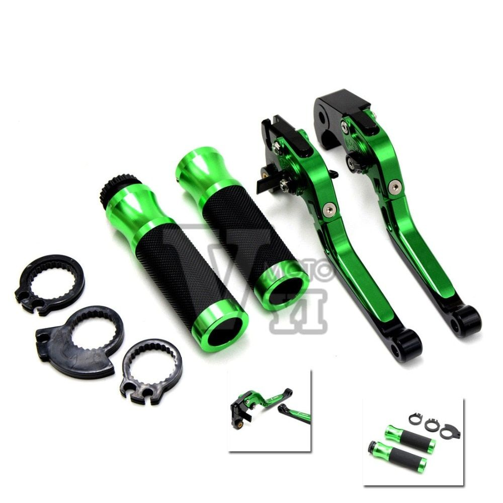 motorcycle handlebar grip brake clutch For KAWASAKI NINJA 300 250 ZX 6R 636 10R 7R 9R 12R 14R yamaha FZ1 FAZER/GT FZ6 FAZER/S2