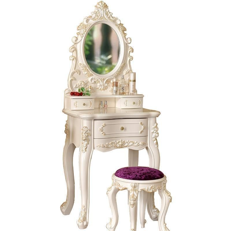 Slaapkamer Makeup Cabinet Tocador Coiffeuse Avec Miroir Chambre European Wooden Penteadeira Korean Quarto Dressing Table