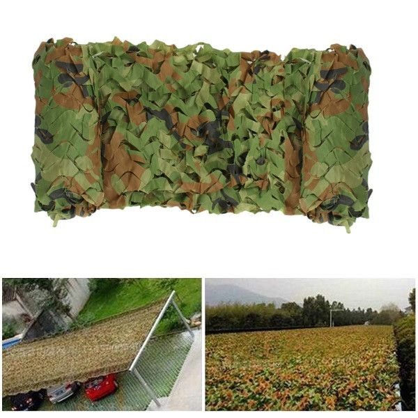 3X4M Hunting Military Camouflage Net Woodland Army training Camo netting Car Covers Tent Shade Camping Sun Shelter decoration