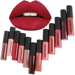 Long Lasting Matte Liquid Lipstick Makeup Waterproof Matte Batom Liquid Lip Gloss