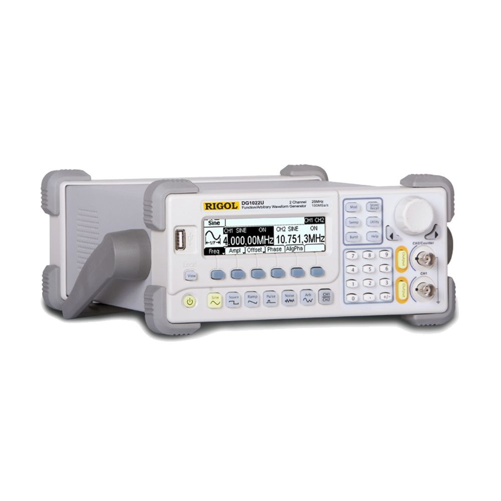 RIGOL DG1022U Updated from DG1022 Signal Generator 2 Channel 25 MHz Function Waveform Signal Generator
