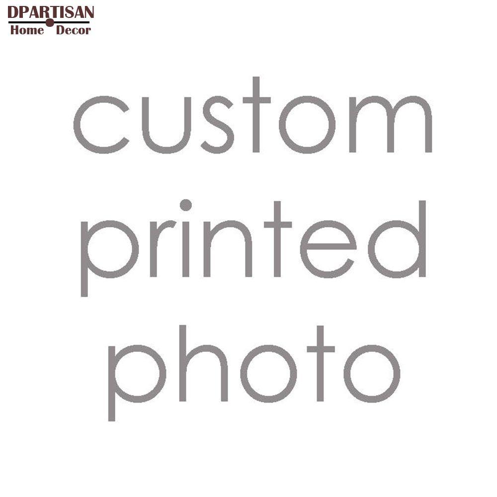 Plus tailles Pour Votre Image, Famille ou Bébé Photo, Image Préférée Personnalisé Impression sur Toile Peinture Chambre Décoratif livraison Gratuite