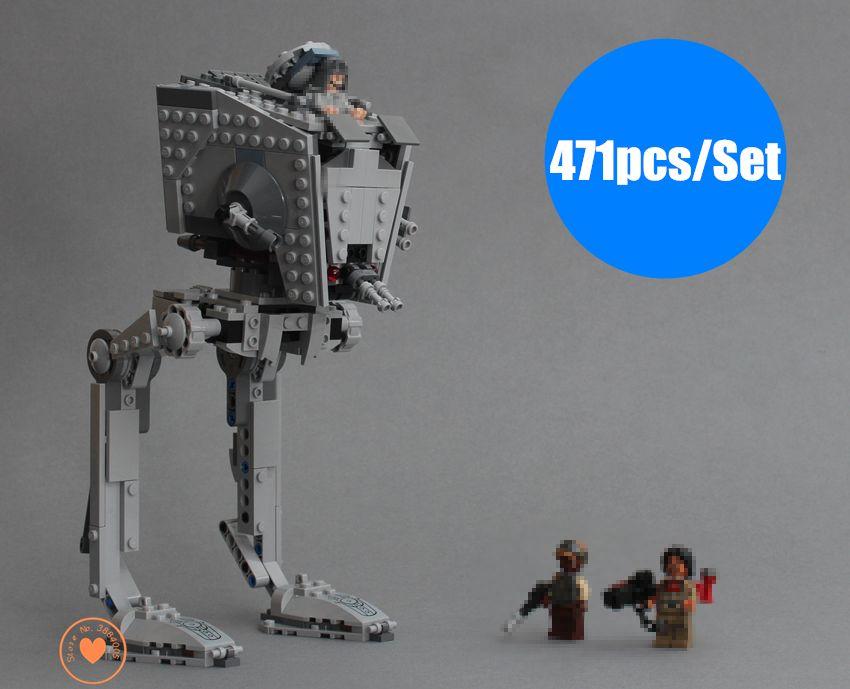 Nouveau Rogue One Imperial AT-ST Walker fit legoings Star wars chiffres véritable modèle bloc de construction brique jouet 75153 cadeau enfant garçon