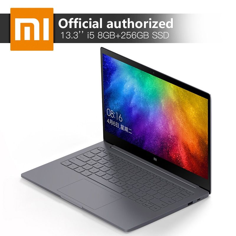Xiaomi Mi Air Notebook 8GB DDR4 256GB SSD Intel i5-8250U Quad Core Laptops MX150 2GB GDDR5 Fingerprint Recognize Ultraslim