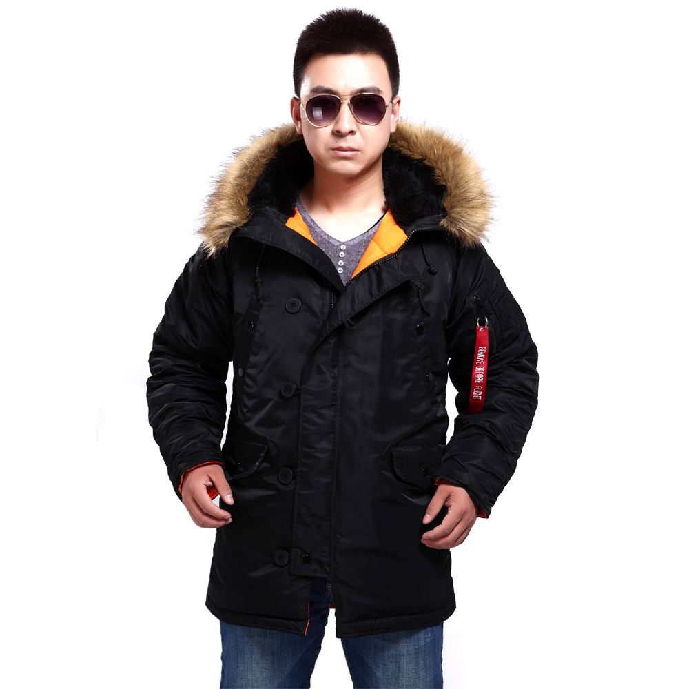 New seibertron N3B/N-3B Slim fit Parka Military Coats Winter Coat Army Clothing jacket Camping Hiking Down