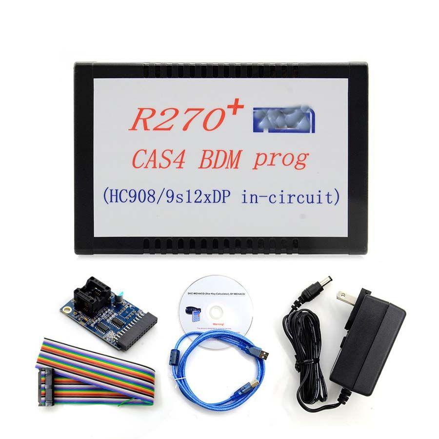 R270 + V1.20 BDM Programmierer Für BMW CAS4 Entfernungsmesser-korrektur Werkzeug Unterstützung für die neue 2009 7 Serie (F01 /F02) CAS4 Kilometerzähler
