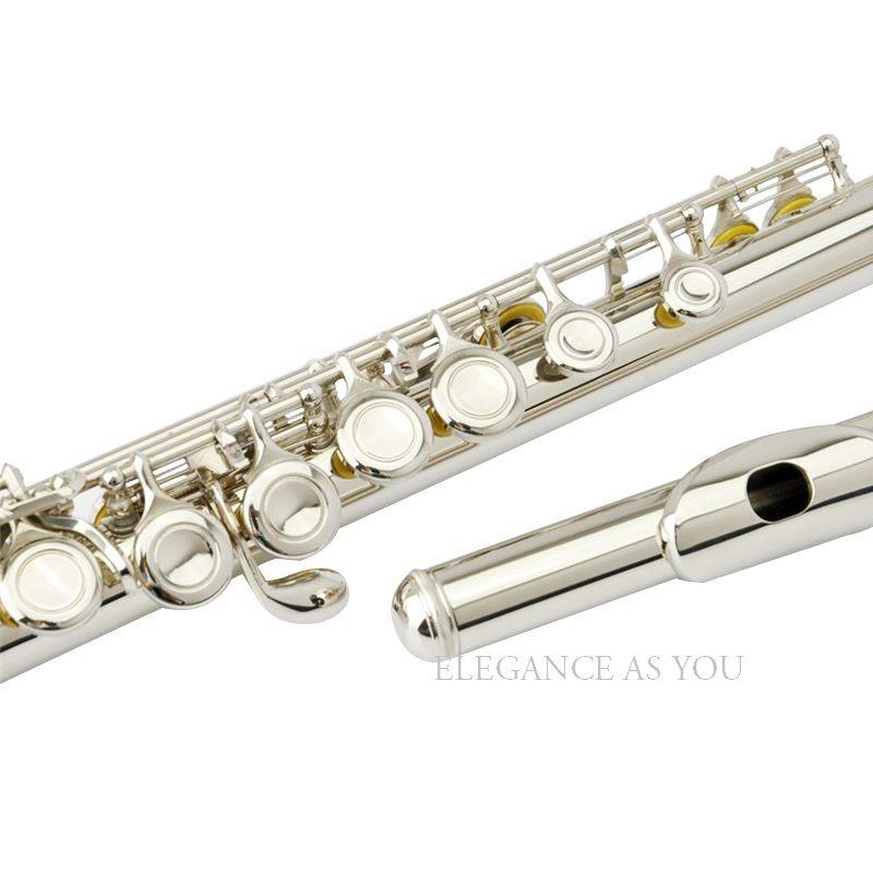 Kostenloser versand high grade marke 16 loch e-taste C flöte, professionelle leistung lernen C tune flöte 16 löcher geschlossen