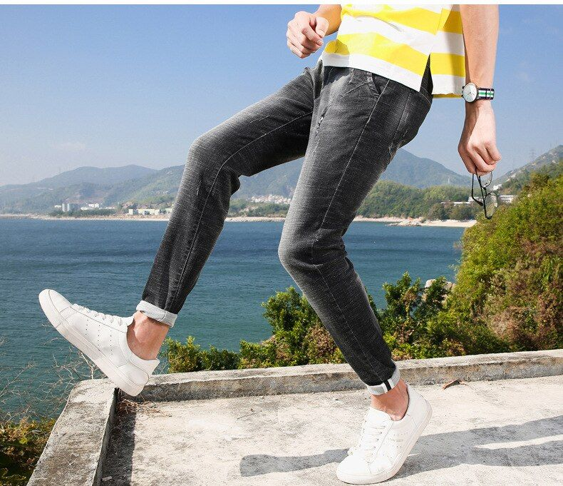 summer style Utr thin light Men's jeans Fashion Brand Jeans Male Casual Denim Men's Jeans Slim Wholesale Jeans