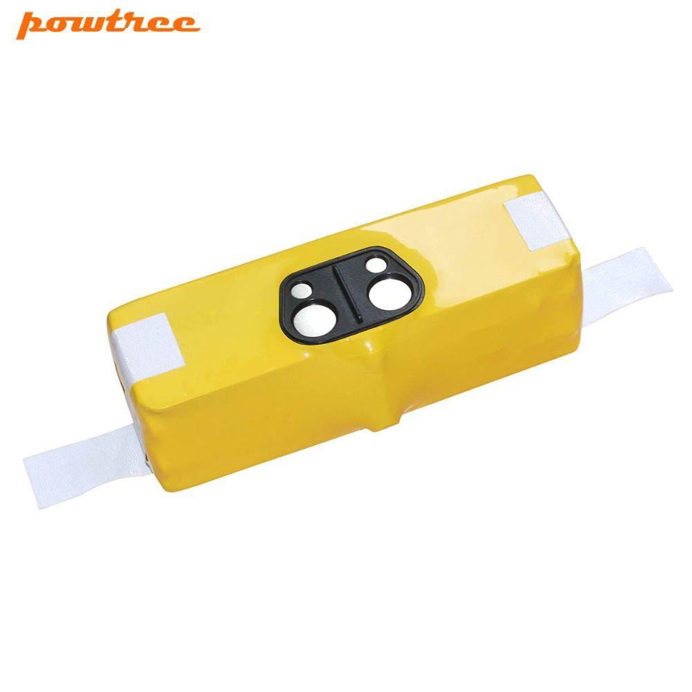 3800mAh 14.4V Ni-MH Replacement For iRobot Roomba 500 600 700 800 Series Vacuum Clean 510 530 531 532 600 620 630 650 770 780