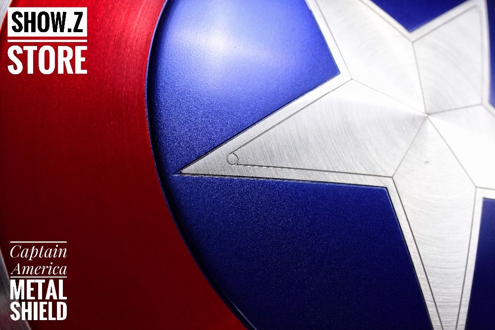 [Zeigen. Z Shop] [Metall] CATTOYS 1:1 Captain America Schild Replica & Prop Perfekte Version